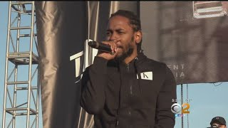 Toy Drive Concert Featuring Kendrick Lamar Brings In 'Truckloads' For South LA Kids