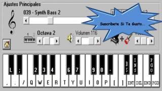 Bad - David Guetta & Showtek Ft Vassy - Piano Electronico 2.5