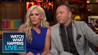 Jenny McCarthy And Donnie Wahlberg Fight Over A Threesome With Andy | WWHL