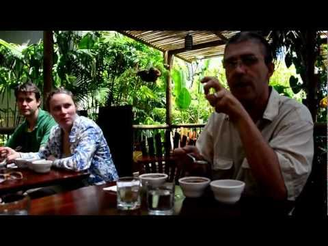 Coffee Tour Finca Rosa Blanca Costa Rica- Coffee Tasting/Spitting