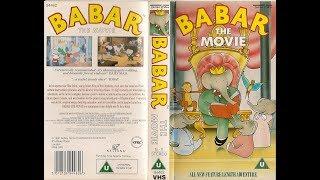 Original VHS Opening: Babar: The Movie (UK Retail Tape)