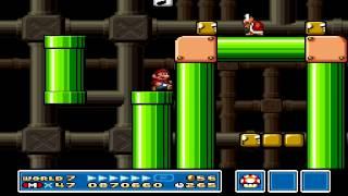Super Mario Bros 3 World 7 Level 1