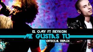 el Omy ft  Reykon   Me Gustas tu Remix   NEW 2011   YouTube