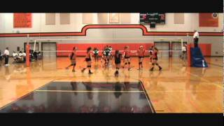 Madyson Rose Beaver Highlight Video vs Foss 9 20 14