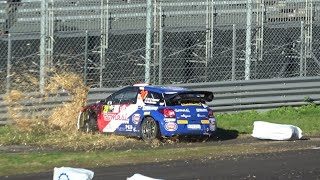 Monza Rally Show 2018 Day 2 | Crash, Big Show & Mistakes | CMSVideo
