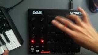 Solid MPK mini + MPD218 Live Jam