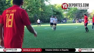 Estados Unidos golea a España en Mundialito en Chicago Illinois International Soccer League