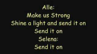 Jonas Brothers, Miley Cyrus, Demi Lovato & Selena Gomez - Send It On