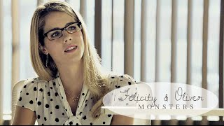 » Felicity & Oliver | I see your monsters.