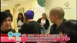 RBD APOYAN LA CAMPAÑA ELIGE ESTAR BIEN CONTIGO