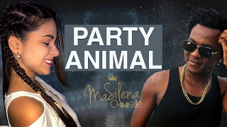 Party Animal  - Charly Black  - Cover Acordeon Ma Silena Ovalle
