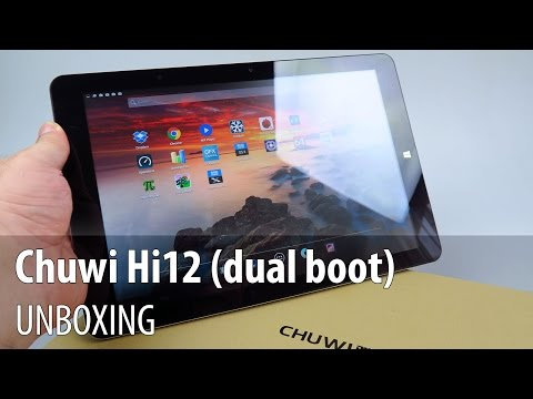 """Chuwi Hi12 Unboxing în Limba Română (tabletă 12"""", dual OS, 4GB RAM, 64GB stocare)"""