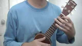 Blur - Out of time (ukulele cover)