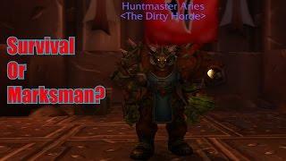 Survival Hunter Or Marksman Hunter? Legion PvP (110)