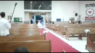 Noiva canta Aleluia