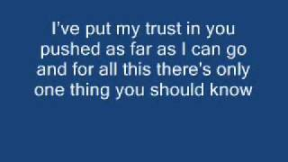 Linkin Park-In The End Lyrics ---BETTER VERSION---