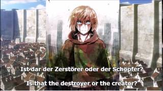 Attack on Titan - Bauklötze (German and English Lyrics)