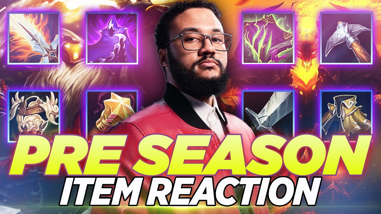 Aphromoo - Aphromoo Reacts to NEW BROKEN ITEMS - League of Legends Season 11
