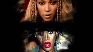 Beyoncé & Rihanna - Run The World/Hard (Mashup)