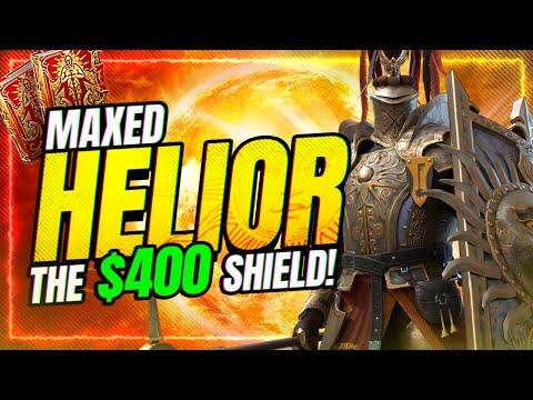 ☀️MAXED Helior! IS HE WORTH 15 SACREDS❓ | RAID Shadow Legends
