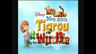 Mes Amis Tigrou et Winnie || French