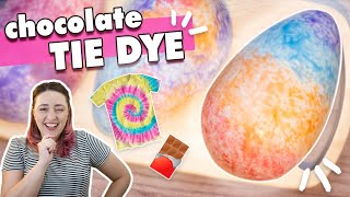 Ovo TIE DYE - como TINGIR Chocolate | Tábata Romero