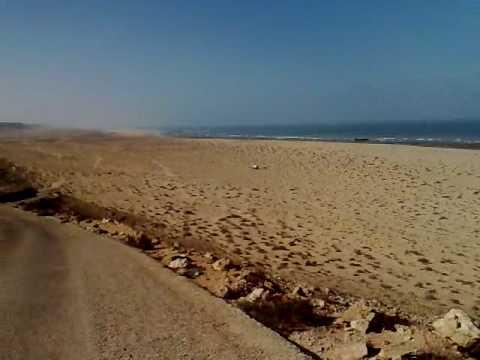 Beach Western Sahara Morocco