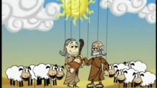 Crianças Diante do Trono Abraão