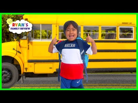 Download Video Ryan's First Day Back To School Morning Routine