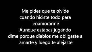 Julion Álvarez 2014- Te hubieras ido antes (letra)