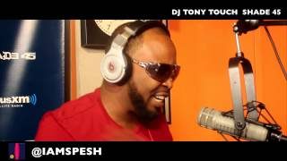 38 SPESH kills another  Freestyle Live On Shade45 With Dj Tony Touch (2014)