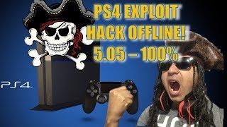 TUTORIAL EXPLOIT OFFLINE PS4 5.05  METODO FACIL - P-BOX