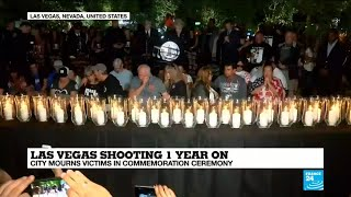 Las Vegas marks 1 year anniversary of the worst mass shooting in modern American history