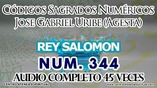 CASOS IMPOSIBLES REY SALOMON, CÓDIGOS SAGRADOS NUMÉRICOS, JOSE GABRIEL URIBE AGESTA 344.
