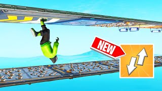 The IMPOSSIBLE UPSIDE DOWN DEATHRUN! (Fortnite)