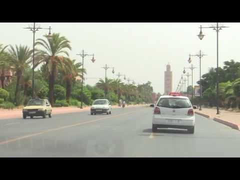 Marrakech, Morocco City Drive / (Maroc / Morocco)