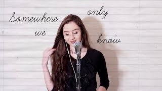 Somewhere Only We Know (Lily Allen Version) - Charlotte Hannah Live Cover