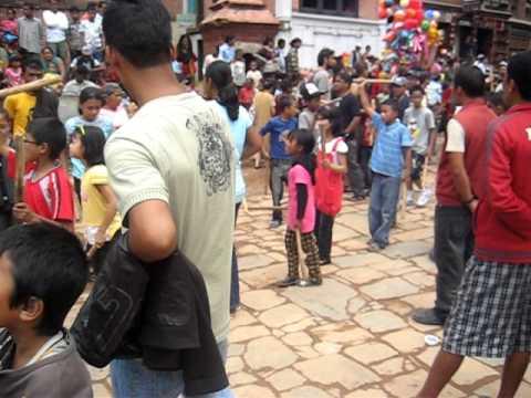 Hindu Festival, Bhaktapur, Nepal
