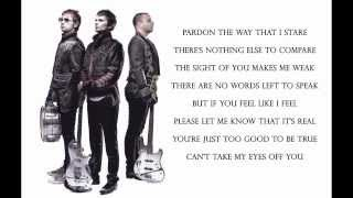 Muse - Can't Take My Eyes Off You ( Lyrics ) HD