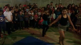 Show Talentos Escola - Alicia e Larissa apresentando o que é Ginástica Rítmica