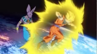 Goku Kamehameha vs Lord Beerus (English Dub)