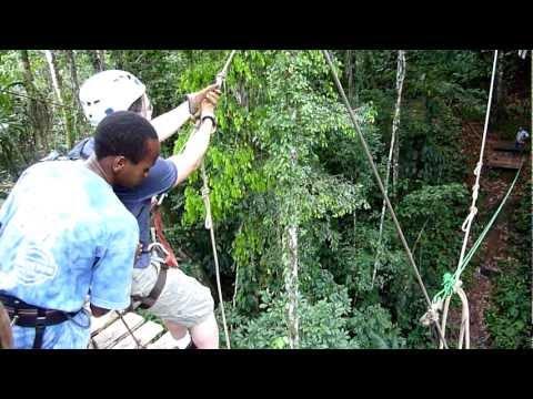 Canopy Salto Tarzan ( COSTA RICA )