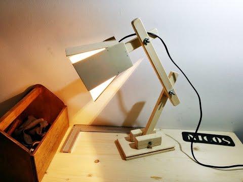 Lampadario In Legno Wood Mania : Come costruire una lampada da terra fai da te mania