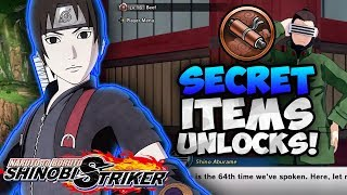 SECRET UNLOCKABLES?! Items + Titles! | Naruto to Boruto Shinobi Strikers