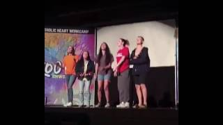 Cimorelli - Unwritten (Catholic Heart Work Camp) #CHWC