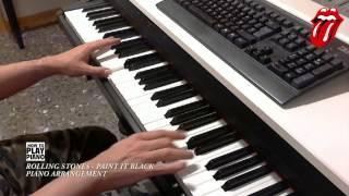 THE ROLLING STONES - PAINT IT BLACK (PIANO ARRANGEMENT)