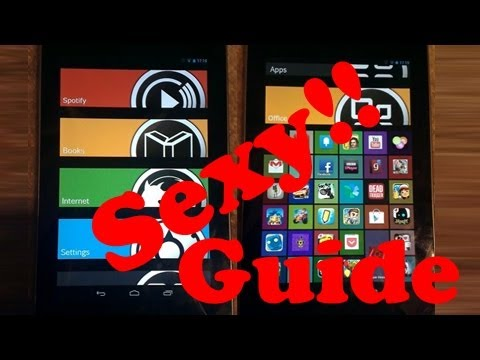 Slatz UI for Android Guide- Sexy up your tablet and phone