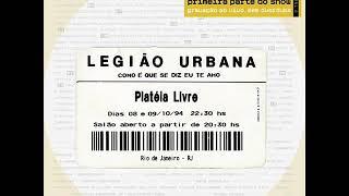 Legião Urbana - Eu sei (ao vivo)