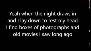 Passenger-Let Me Dream A While (lyrics)