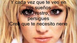 Britney Spears - Everytime (letra)